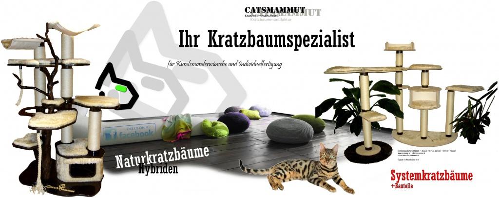 CatsMammut der Kratzbaumspezialist - Kontakt